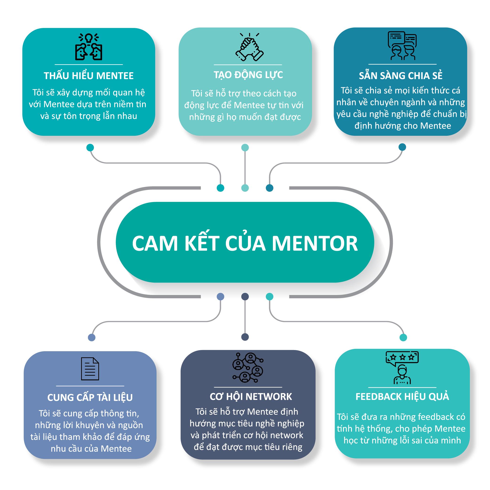 Cam kết của Mentor