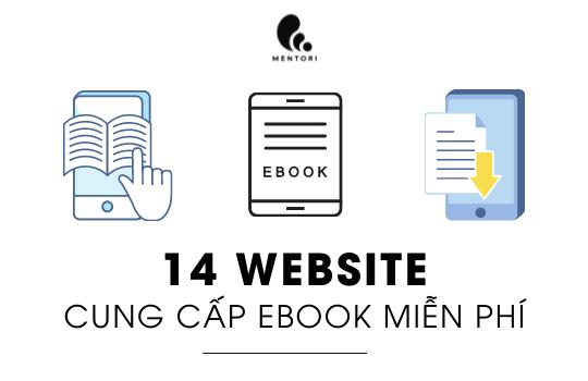 14 WEBSITE CUNG CẤP EBOOK MIỄN PHÍ